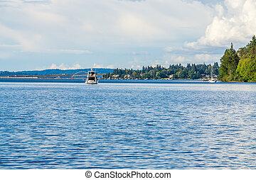 Boat And Bridge 2