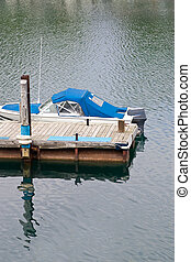 Boat at end of the dock