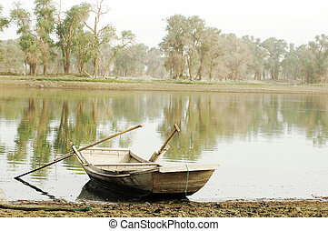 Boat at lake