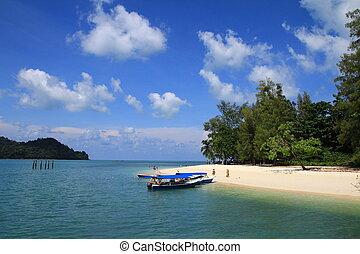 Boat at the coast