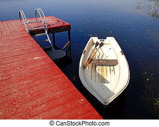 Boat at the pier