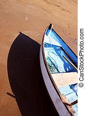 Boat Beach Sunset 2