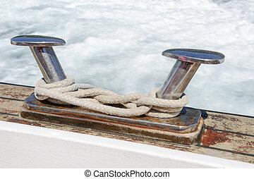 Boat bitt detail