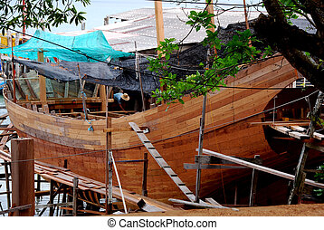 Boat Building A