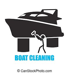 boat cleaning