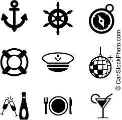 Boat Cruise Icons