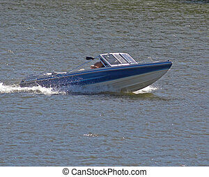 Boat crusing - Boating On River 201