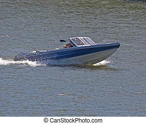 Boating On River 201