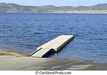Boat dock.