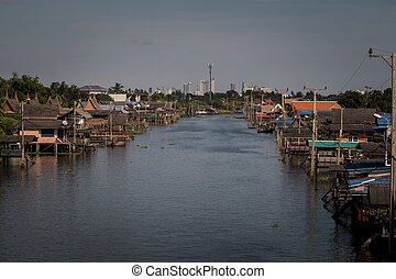 canal, Bangkok Thailand