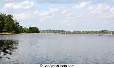 boat galve lake trakai
