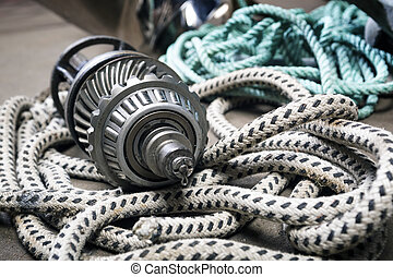 Boat gears and ropes - Boat gears made of stainless steel ...