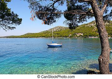 Boat Harbor, Adriatic, Croatia