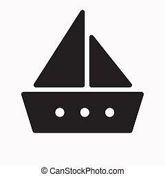 Boat Icon Vector Illustration