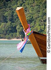 Boat in Andaman sea, Thailand