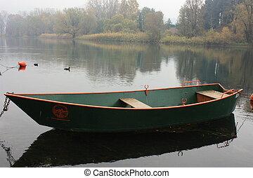Boat in Autumn I