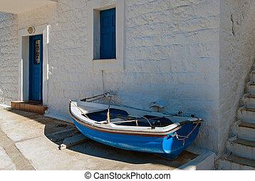 Boat in Greece