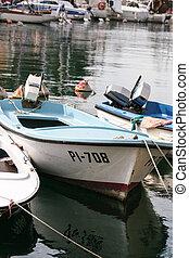 Boat in Piran
