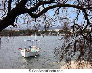 Boat in Porto Colom