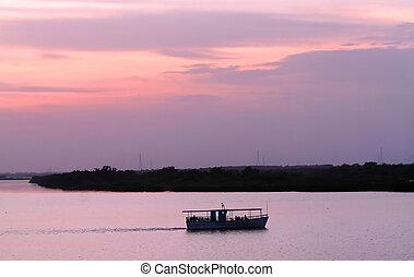 Boat In The Dawn