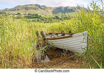 Boat in the lake