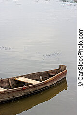 Boat in the lake