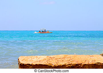 boat in the sea