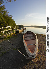 Boat Lake Fisheye Lens
