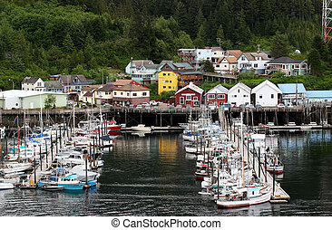 Boat Moorage - Quiet moorage in Ketchikan Alaska