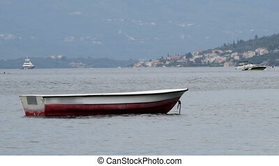 boat on a quiet sea