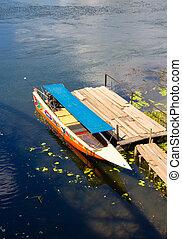 Boat on Chao Phraya river