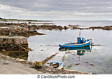 Boat on Galway Bay