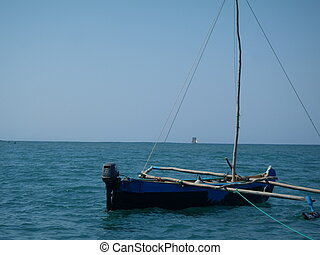 Boat on the Ocean