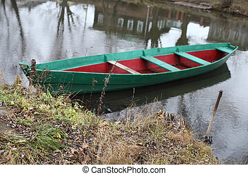 Boat on the river.