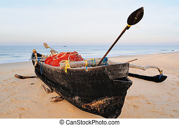 Boat on the shore