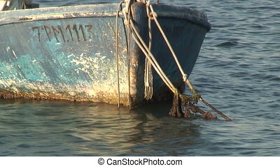 Boat , Palma di Majorca - Small boat mooring.