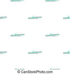 Boat pattern flat