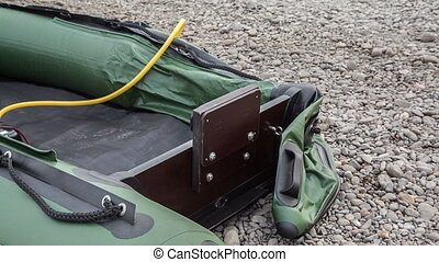 Boat PVC - the boat PVC is pumped up by air by means of the...
