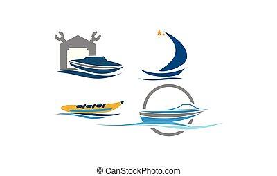 Boat Repair Workshop Set