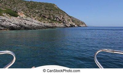 Blue Caves - Boat Ride Near Blue Caves, Zakynthos Island,...