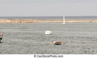 Boat - Ships at sea.