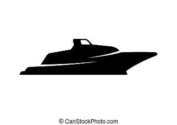 Boat silhouette