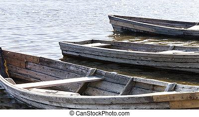 boat swim lake