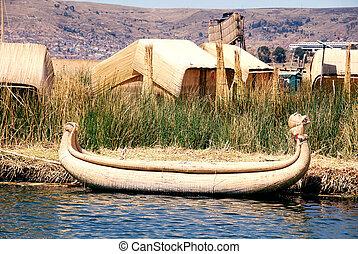 Boat Titicaca
