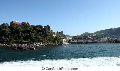 Boat Trip, Ischia, Italy