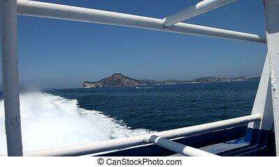 Boat Trip, Island, Italy