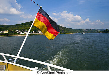 Boat Trip on the Rhine in Germany - Boat trip taking in the...