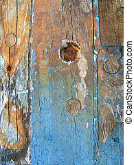 Boat wreck detail - Abstract detail of a fishing boat wreck...
