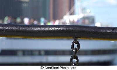Boating Handrail And Chain