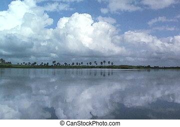 Boating on the Rufiji River in Tanzania Africa